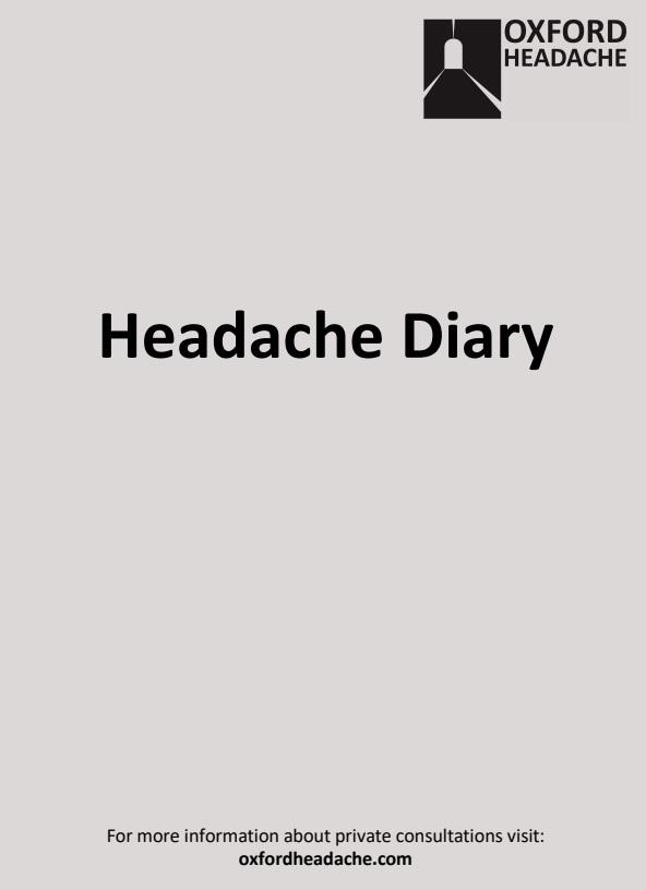 headache migraine oxford cheltenham gloucester